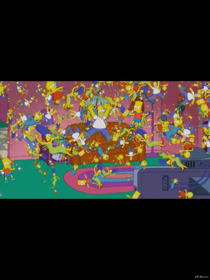 Симпсонов много не бывает Симпсоны, Гомер, мардж, барт, Лиза, мэгги.