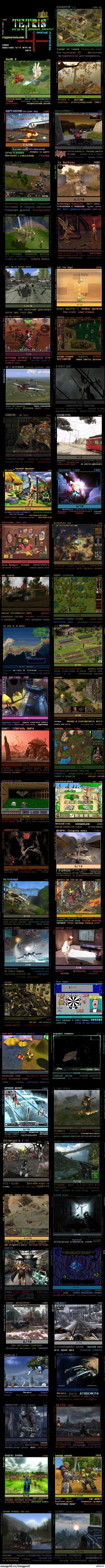 Список более-менее годных игр, разработанных православными игроделами. Часть 1. Запилил длиннопост, ибо картинка 4к на 4к на Пикабу нормально загружаться не хочет.