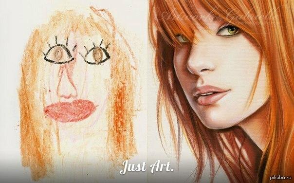 рисунки для 10 лет: