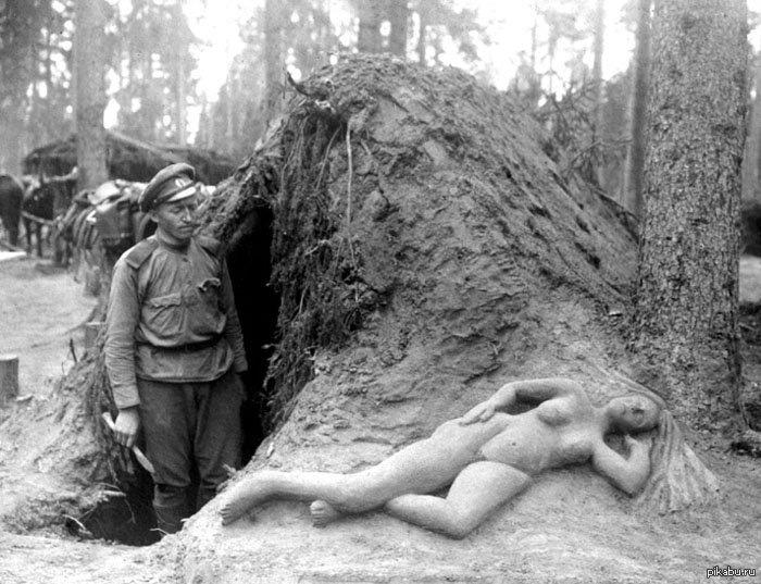 Фото голых женщин времен войны 83732 фотография