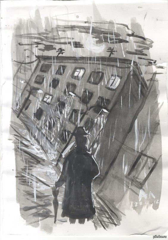 мрачные рисунки карандашом: