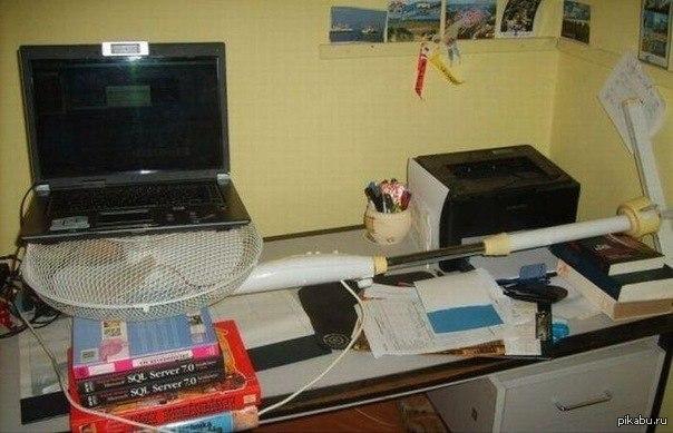 Вентилятор для ноутбука своими руками