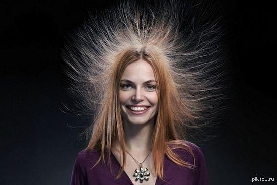 Чтобы волос не магнитился в домашних условиях