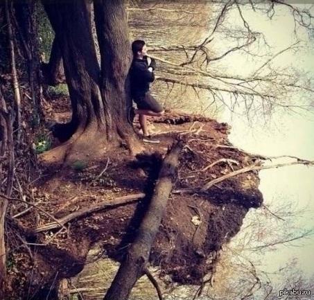 На этом фото нет озера!