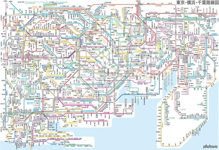 Японское метро Метро, выхода