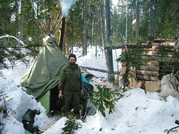 охота рыбалка зимовье показать видео