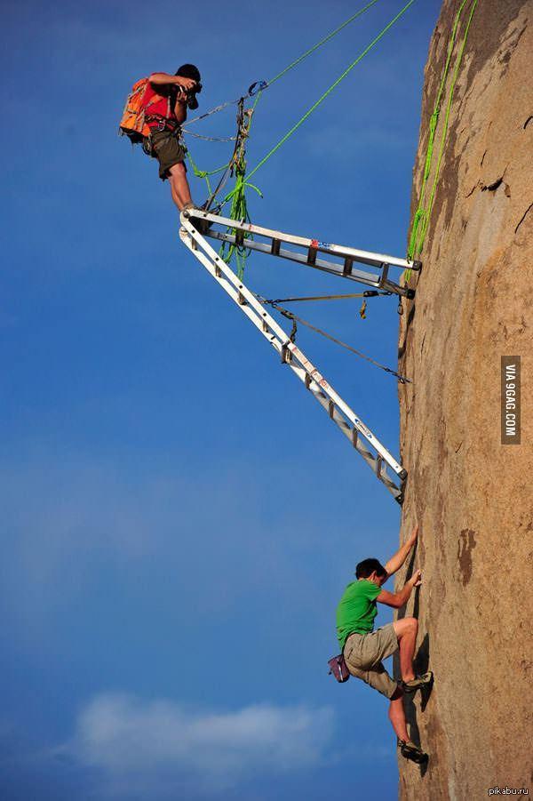 Как фотографируют скалолазов   скалолазание, фотограф, 9gag
