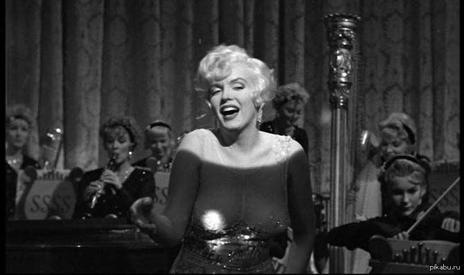 """Почувствуй себя старым Фильм """"В джазе только девушки"""" вышел 54 года назад."""
