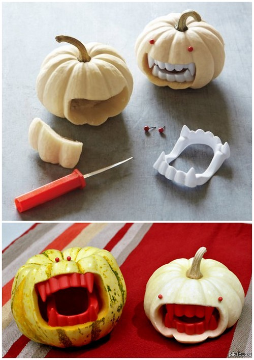Идея для хэллоуина своими руками