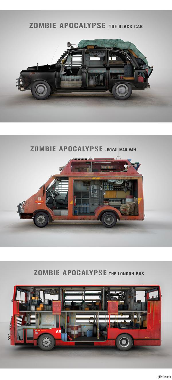 машины против зомби картинки