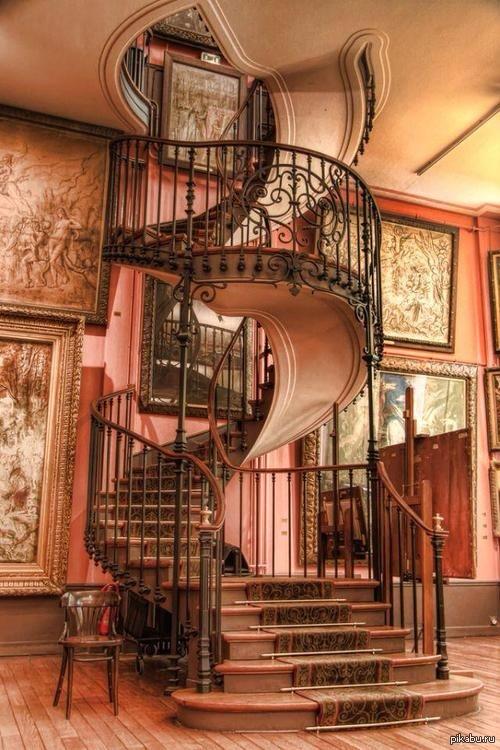 Красивая лестница фото