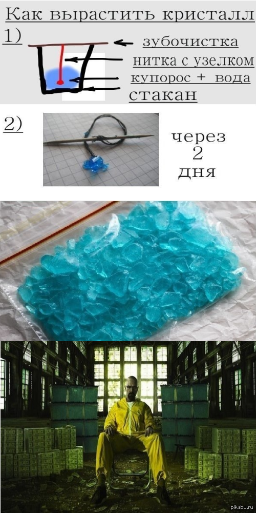 Синий мет в домашних условиях