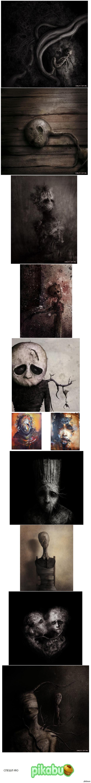 Хочу представить вам художника Эрика Лакомба. Который пишет картины в откровенно депрессивном стиле. Думаю среди вас найдутся те, кто сможет оценить его работы