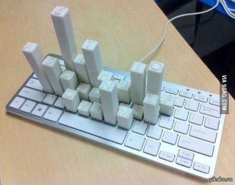 Компьютер в клавиатуре своими руками