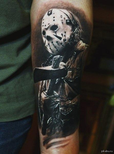 Татуировки джейсон вурхис