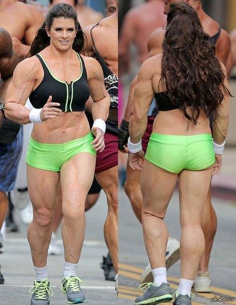 фото девушки со спортивной фигурой