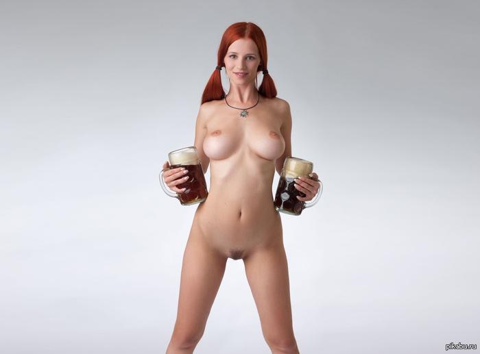 Скачать обои для рабочего стола обнаженная, киска, сиськи, пиво все бесплат