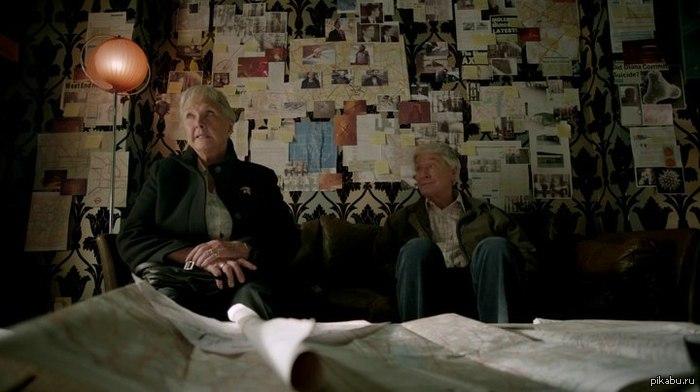 """Интересный факт о сериале """"Шерлок"""" Родителей Шерлока Холмса сыграли родители Бенедикта Камбербэтча (который, собственно и играет Шерлока) :)  сериал шерлок bbc, интересные факты, Бенедикт Камбербэтч"""