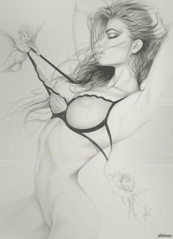 Рисованные сексуальные картинки