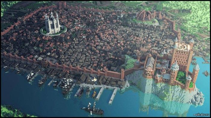 В майнкрафте игра престолов minecraft