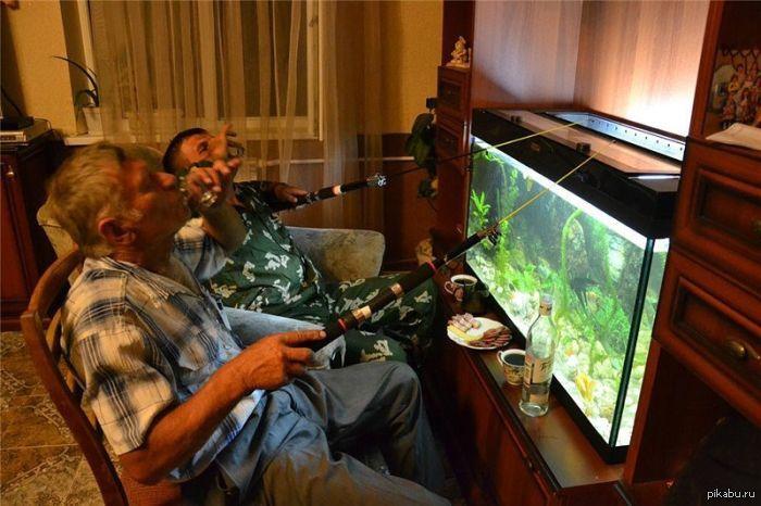 муж и жена на рыбалке приколы фото