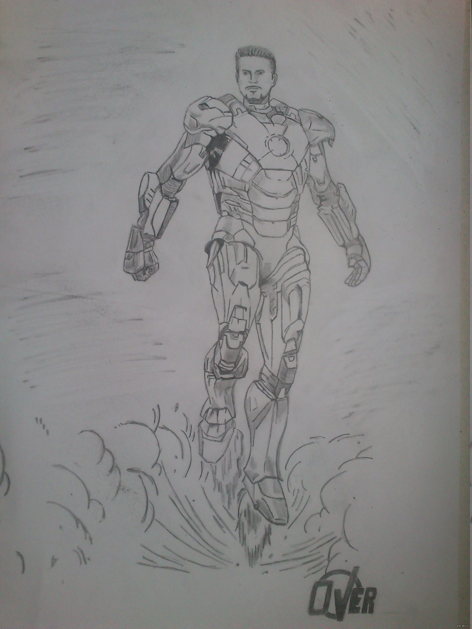 Рисунки человека карандашом 6 фотография