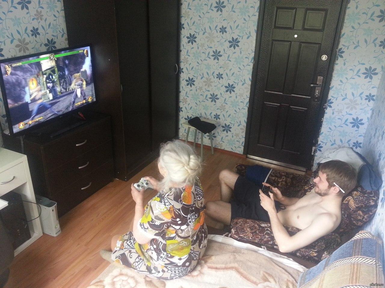 Видео голых старых бабушек пытались подставить