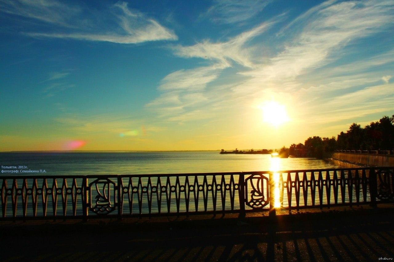 Фото с видом на волгу тольятти 5