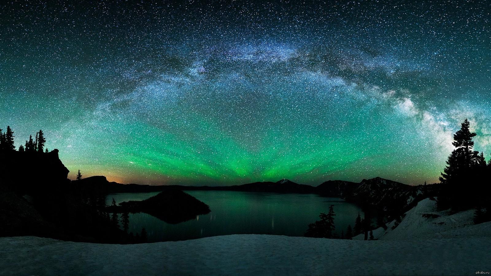 Фото млечный путь на небе