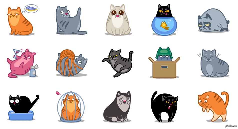 Красивый сборник круглых иконок для большинства лаунчеров