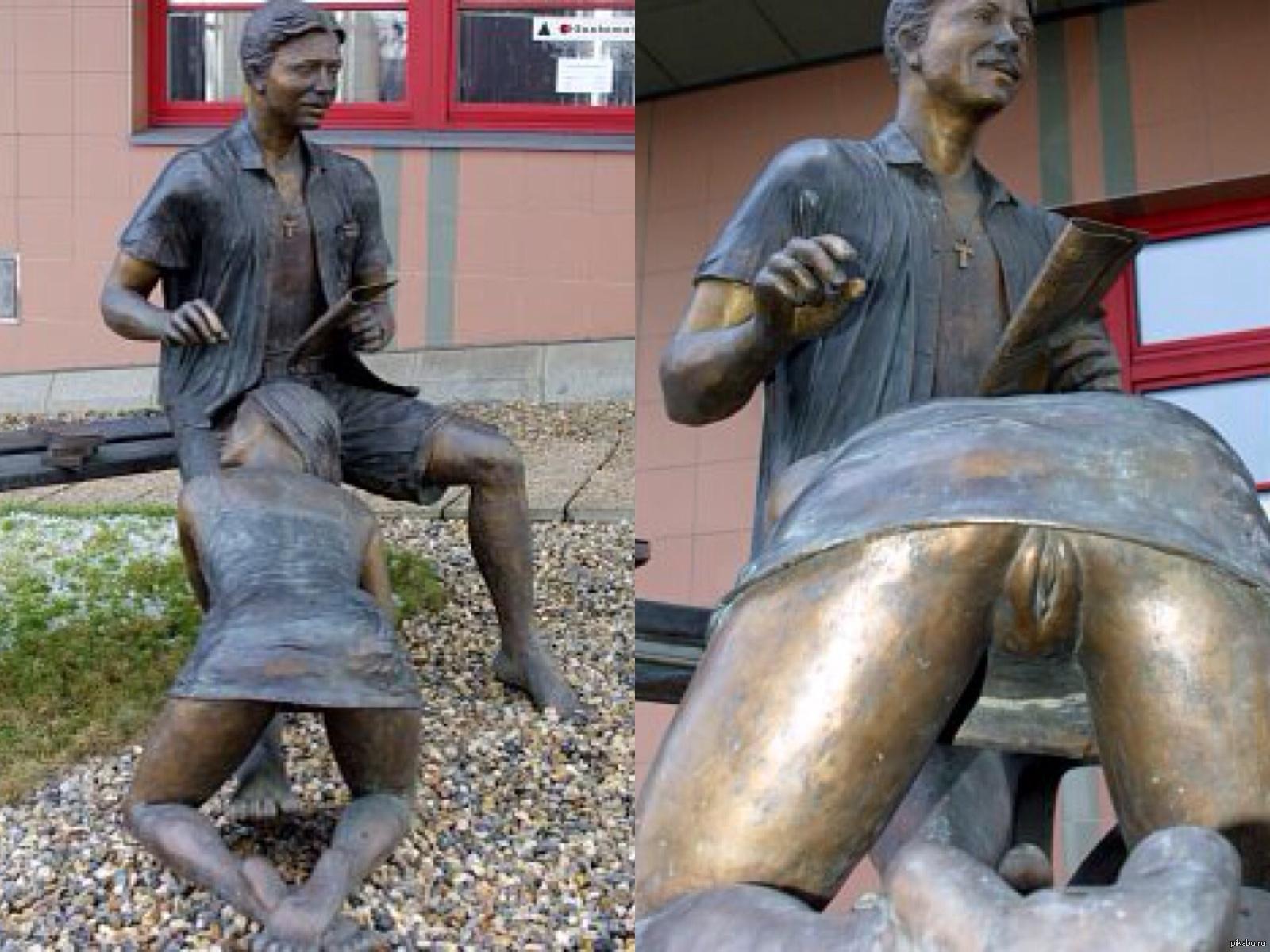 Секс возле памятника 12 фотография
