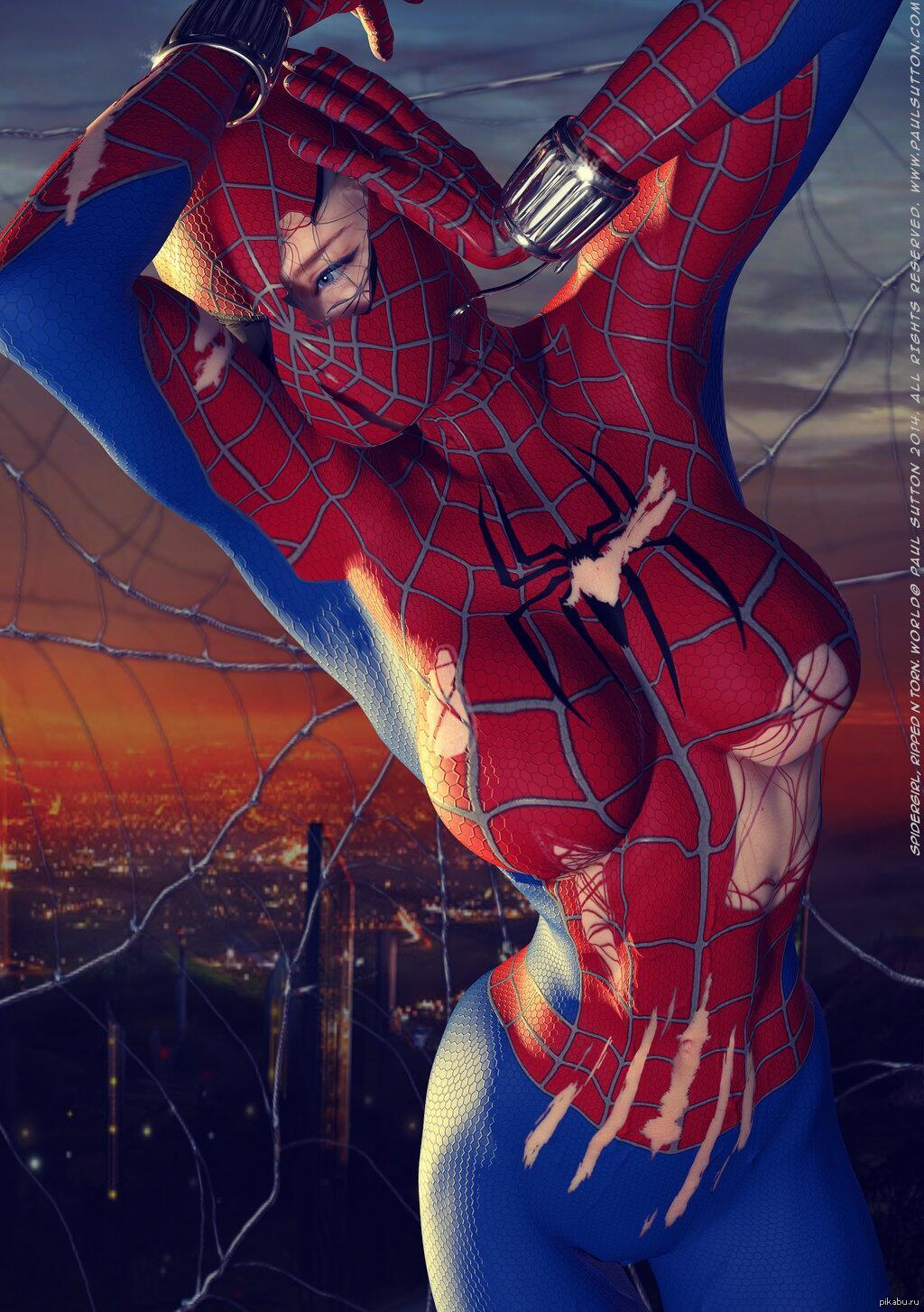 Человек паук ххх пародия 25 фотография