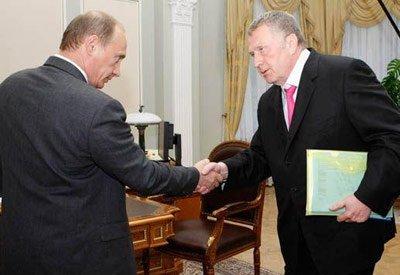 Жириновский и Медведев