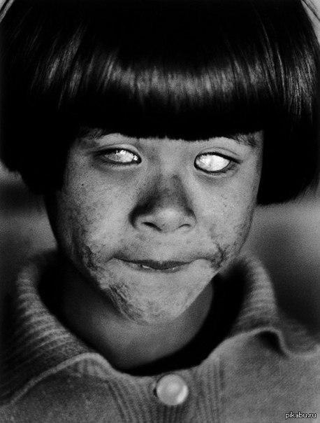 Что видела эта японская девочка?
